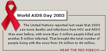 World AIDS Day 2003